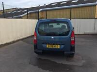 Peugeot partner teepee wheelchair accessible disabled mobility lpg/petrol