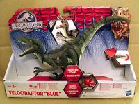 "NEW Jurassic World Velociraptor ""Blue"" Action Figure / Boxed"