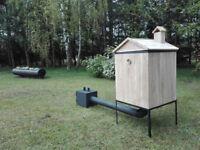 Wooden Smoker - Smokehouse - Garden BBQ Oak