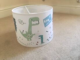 Dinosaur lampshade from little home at John Lewis- brand new!