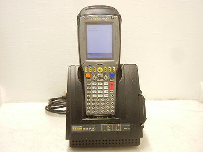 Psion Teklogix 7535 G2 Used Handheld Pistolgrip Scanner W Hu4002 Charger 7535g2