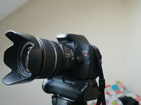 Canon 600D DSLR Kit Including 17-85mm Lens, Grip, SD Card, 3 Batteries, Charger and Filters