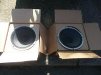 Celestion G12T speakers [2]. £45 each. Can Post.