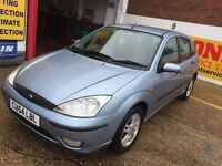 2005 FORD FOCUS 1.6 AUTOMATIC 5 DOOR 1 LADY OWNER 85 000 MILES