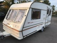 Bailey Pageant Majestic 2 Birth Lightweight Touring Caravan, Full Cooker, Grill & Oven, Beautiful