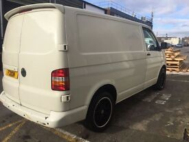 VW TRANSPORTER 57 plate (08) WORK / CAMPER / MOTO X LOADS OF POTENTIAL
