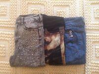 Gorgeous size 8 jeans bundle
