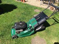 Qualcast Suffolk Turbo Petrol Lawnmower