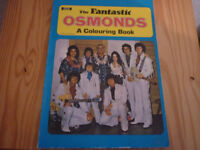 The Osmonds - Colouring Book