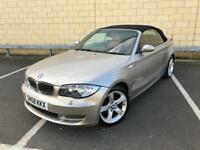 Rare BMW 1 Series Convertible 2.0 118d SE Automatic, Sat Nav, Leather And More