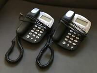 Pair of Binatone Caprice 500 phone handsets.