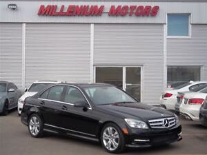 2011 Mercedes-Benz C-Class C300 4MATIC AWD /  LEATHER  / SUNROOF