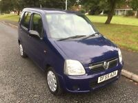 VAUXHALL AGILA 1.0 EXPRESSION 55 REG 5 DOOR IN MIAMI BLUE ONLY 64,500 MILES.. PETER 07867955762