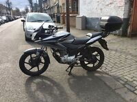 Honda cbf 125cc 2009 very good condition