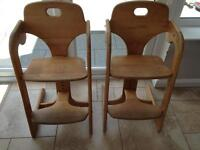 2 Mamas & Papas Highchairs / Seats