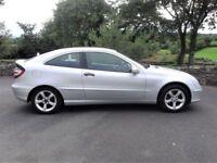 Dec 07 Mercedes C180K SE Coupe***Only 80,000 Miles***Full MOT**