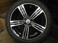 MG ZS 7 x 17 ALLOY WHEELS AND TYRES EXCEPTIONAL CONDITION SINGLES AVAILABLE
