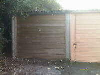 Lipson Vale single lock up garage/store