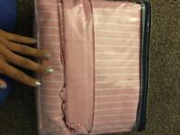 Pink Ralph Lauren size double bedding