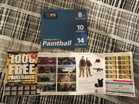 20x£30 IPG Paintball tickets including 2000 free paintballs VALID UNTIL 16/05/17