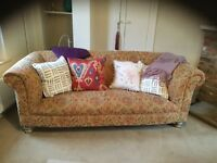 Comfy 3 Seater Settee.
