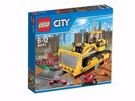 Lego 60074 City bulldozer