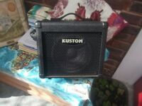 Small guitar Amp, Kustom KBA10x in very good condition.