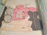 Baby swaddle bundle