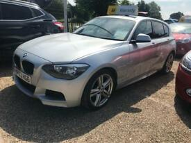 BMW 1 SERIES 2.0 116D M SPORT 5d 114 BHP Apply for finance Online today! (silver) 2013
