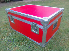 FOR SALE-- Large Metal Protex Trunk