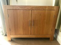 Solid Oak Side Sideboard Cargo - Other Matching Items Also Available