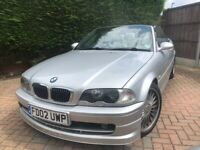 RARE + 2002 02 PLATE + BMW ALPINA B3S 3.3 CONVERTIBLE SWITCHTRONIC + 130K
