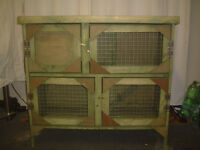 brand new 3ft 2 tier rabit guinea pig hutch in forest green