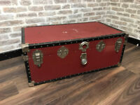 Red Trunk for storage