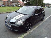 2007 Renault Clio Extreme 1.2 petrol new shape, 3 door, new 12 months MOT, sport exhaust, alloys,,,