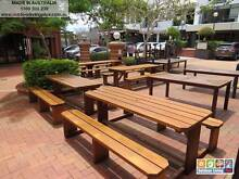 8 Seater Table Setting Outdoor Garden Bench Set Picnic Table Rocklea Brisbane South West Preview