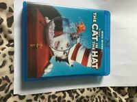 Dr Seuss Cat In The Hat Blu Ray DVD