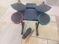 PS2 Guitar Hero Drum Set (59#)