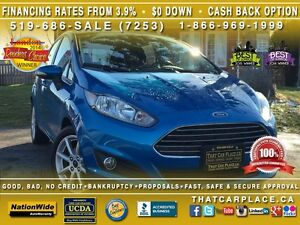 2015 Ford Fiesta SE - $51/Wk - Aux/USB Input-Fuel Saver-Powertra London Ontario image 1