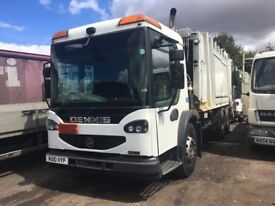 DENNIS EAGLE ELITE 26 TON REFUSE TRUCK 2010 ALL IN GOOD WORKING ORDER OUT OF MOT TODAY 31/7/18