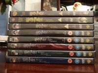 Harry Potter DVD's all movies.