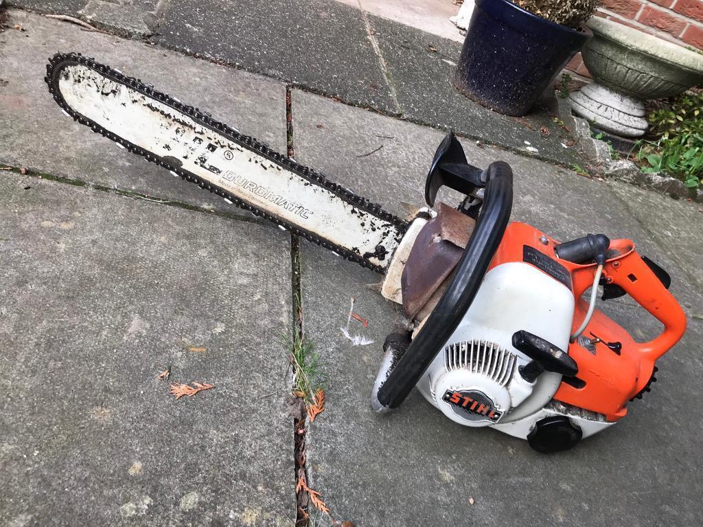 Stihl 08s Chainsaw In Bournemouth Dorset Gumtree