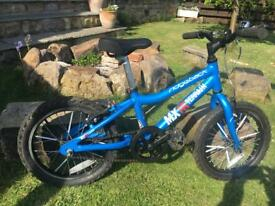 Ridgeback 16MX mountain bike with gears