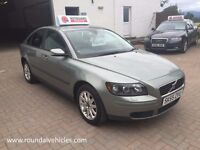 12 MONTHS WARRANTY, 2005 55 Plate Volvo S40 1.6 S saloon 12 months mot, LOVELY LOOKING CAR FOR MONEY