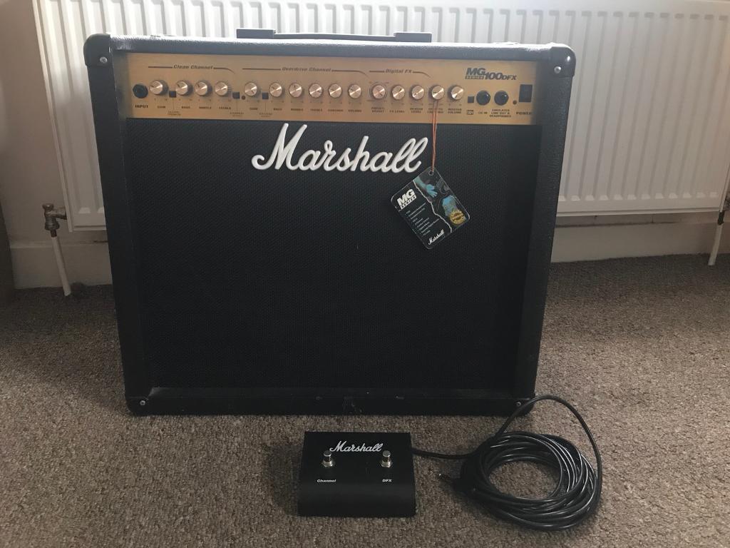 Marshall MG100DFX 100watt guitar amp