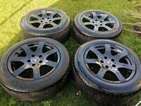 Mercedes Benz 5x112 alloy wheels c class e class amg