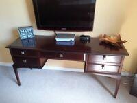 Stag 4 drawer dresser.