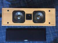 Bargain! Made in Denmark! New JAMO E4 center speaker for a home cinema system.