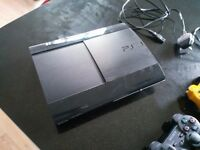 PS3 Super Slim with 2 consoles