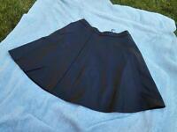 Black pvc short newlook skirt